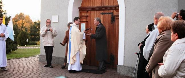 Przekazanie klucza do sanktuarium
