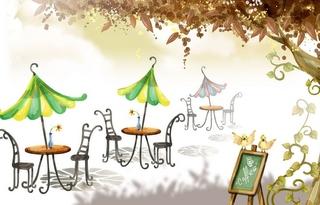grafika-kawiarenka-pod-drzewem